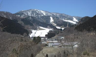 めいほうスキー場・全景