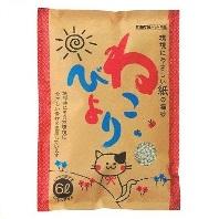 紙の猫砂ねこびより