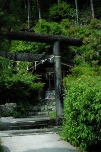 高源寺天心宮の鳥居