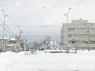 函館市 三角グラウンド