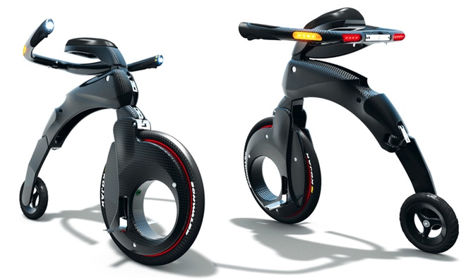次々登場電動面白バイク