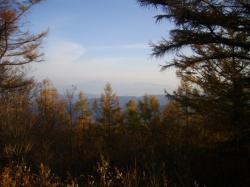 恵那山が見える