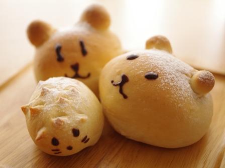 簡単本格てごねパンでおかずパン