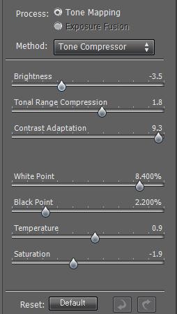 夜景-HDR-photomatix