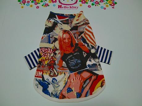 M*mania:レイヤードTシャツ【American】4