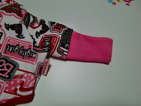 M*mania:レイヤードTシャツ【BA-TSU】3
