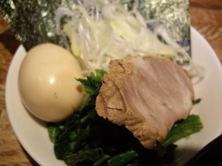横浜家系豚骨正油極太麺 侍 つけ麺(具)