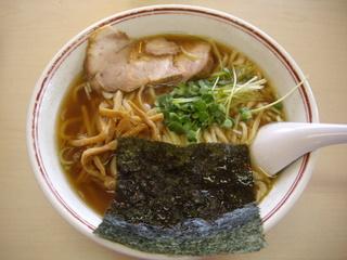 あぢとみ食堂 正油太麺
