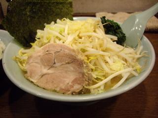 麺家 黒 ドカ盛り野菜ラーメン