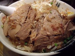 麺屋武蔵 虎洞 虎麺(豚)