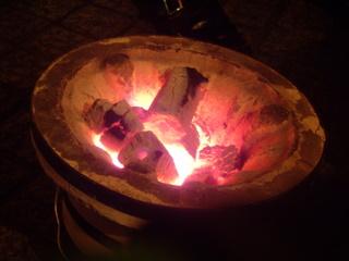 屋台一竜 火鉢