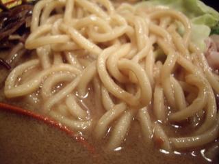 釜炊き豚骨ラーメンきら星満天 釜炊きとんこつラーメン(麺)