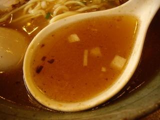 醤道 ver.心 道ラーメン(スープ)