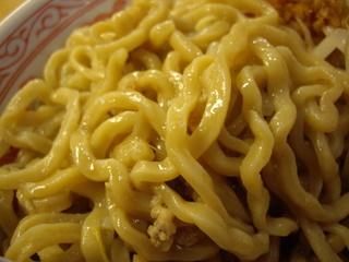常勝軒 前橋店 ふじ麺(麺)