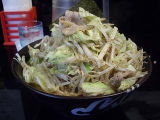 ザ・マグナムハウス豪腕味噌 豪腕味噌らーめん+野菜炒め