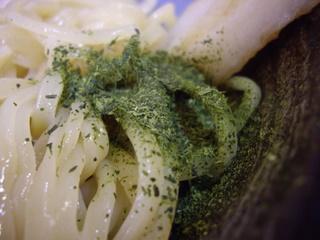 麺屋桑田 茶山つけ麺(茶)