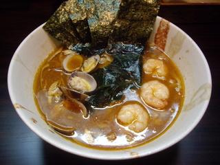 優創 魚介醤油ラーメン