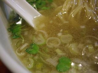 江戸前煮干中華そば きみはん 塩(スープ)