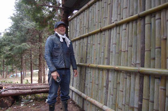 banboo wall