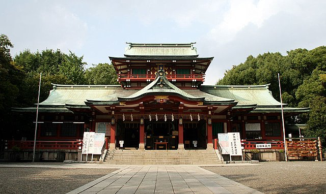 富岡八幡宮本堂