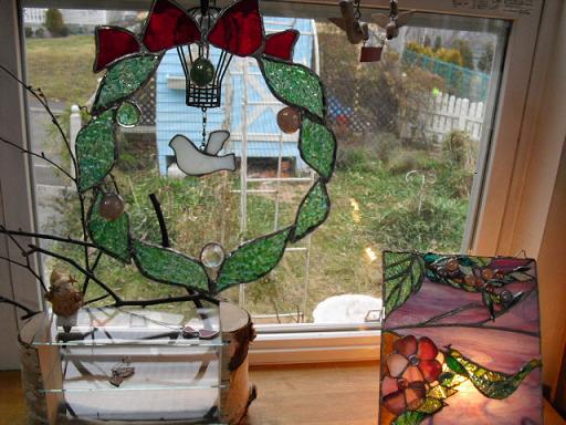 クリスマスリース2010