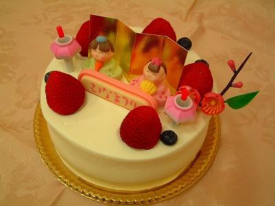 ひなまつりケーキ10
