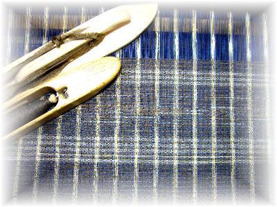 裂き織り布1