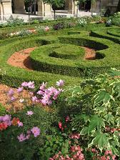 カルナヴァレ美術館のお庭