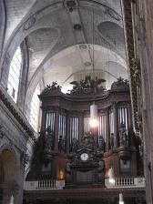 サンシュルピス教会のパイプオルガン