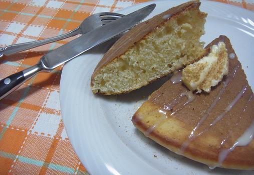2012.1.21日常 くまくまホットケーキもどきw 4
