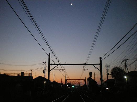 2012.2.2分 トラバ 夕焼け写真 9