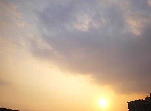 2012.2.2分 トラバ 夕焼け写真 5