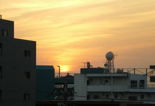 2012.2.2分 トラバ 夕焼け写真 3