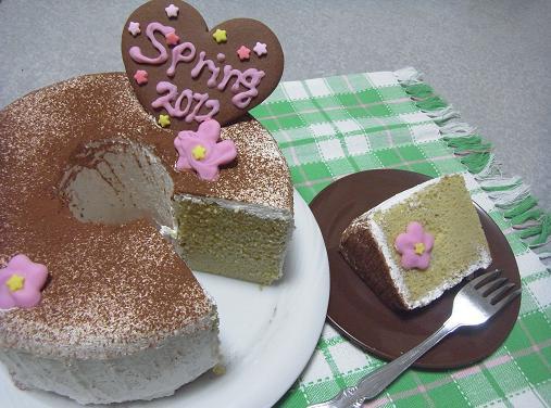 2012.3.3分 日常 ひな祭りぽくなったケーキw 4