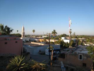 エル・フエルテの町の眺め