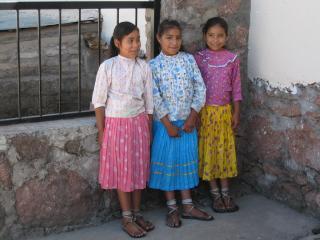 タラウマラの子供たち