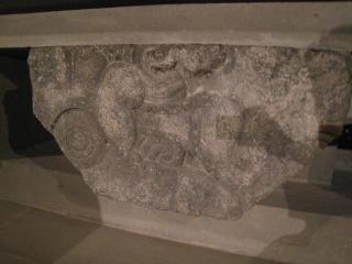 アステカ時代の人身供犠祭壇
