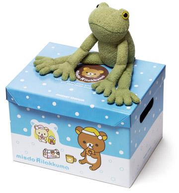 福箱とカエル