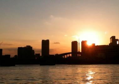 東京タワーの夕陽