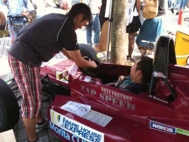 中村さんの車