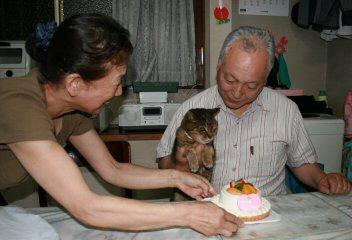 ニャン誕生日パーティー