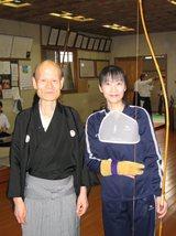 弓道 先生と