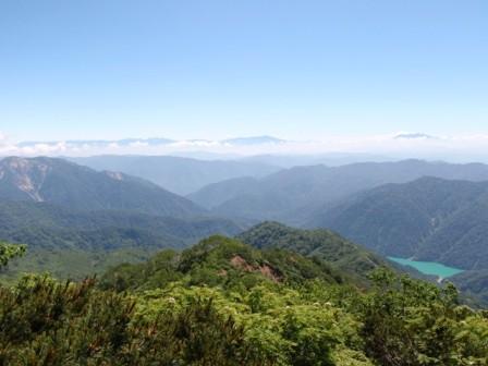 20110715北ア、御嶽、白水湖