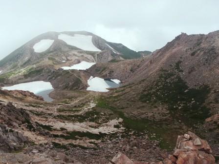 20110715御前峰より大汝方面