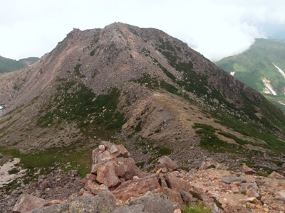 20110715御前峰から望む剣が峰