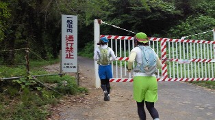 20110724林道ゲート