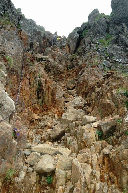 20110811-8頂上への登山道
