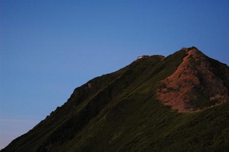20110812-赤岳朝焼け頂上小屋