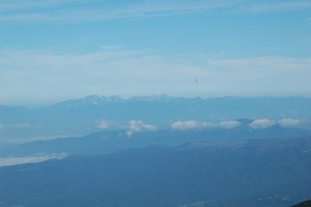 20110812-赤岳天望荘からみた北ア遠景