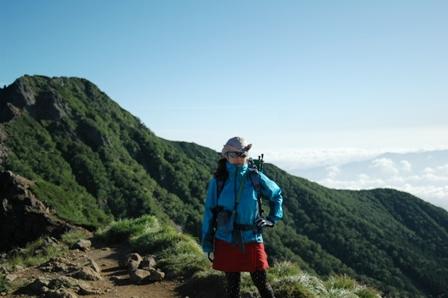 20110812-赤岳天望荘出発2